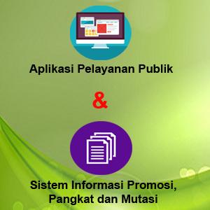 Aplikasi Pelayanan Publik dan Sistem Infromasi Promosi, Pangkat dan Mutasi